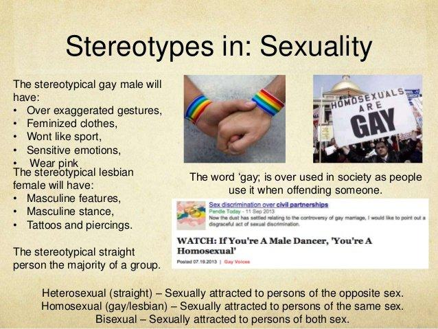 Stereotype activity gay lesbian support group