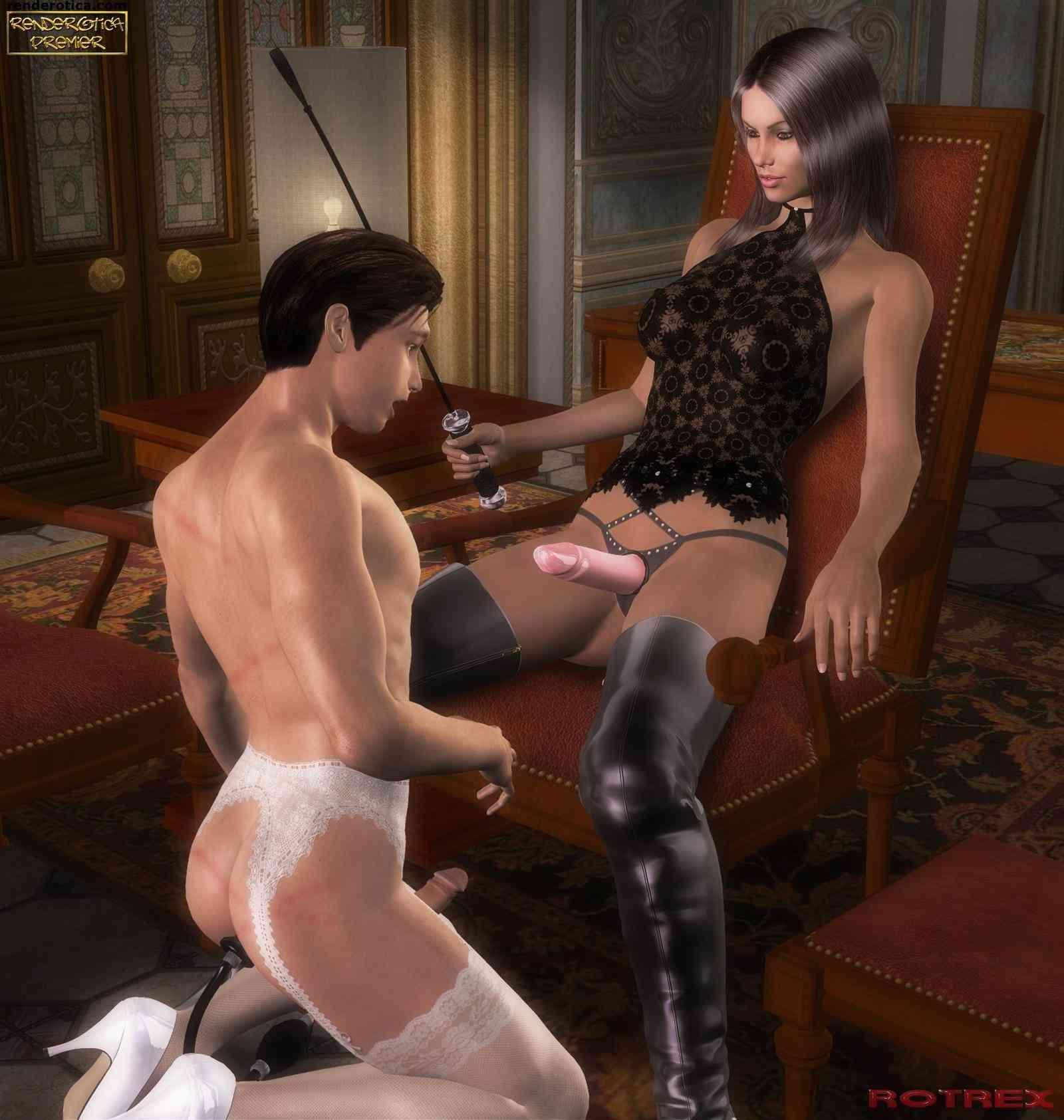 Female domination sissy husband