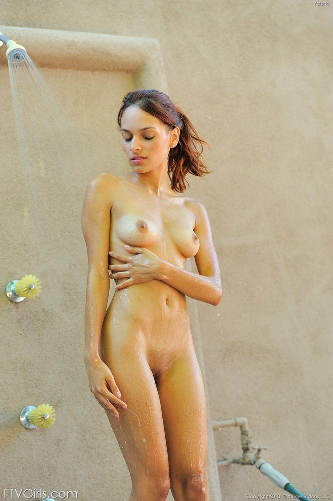 best of Outside Nude shower