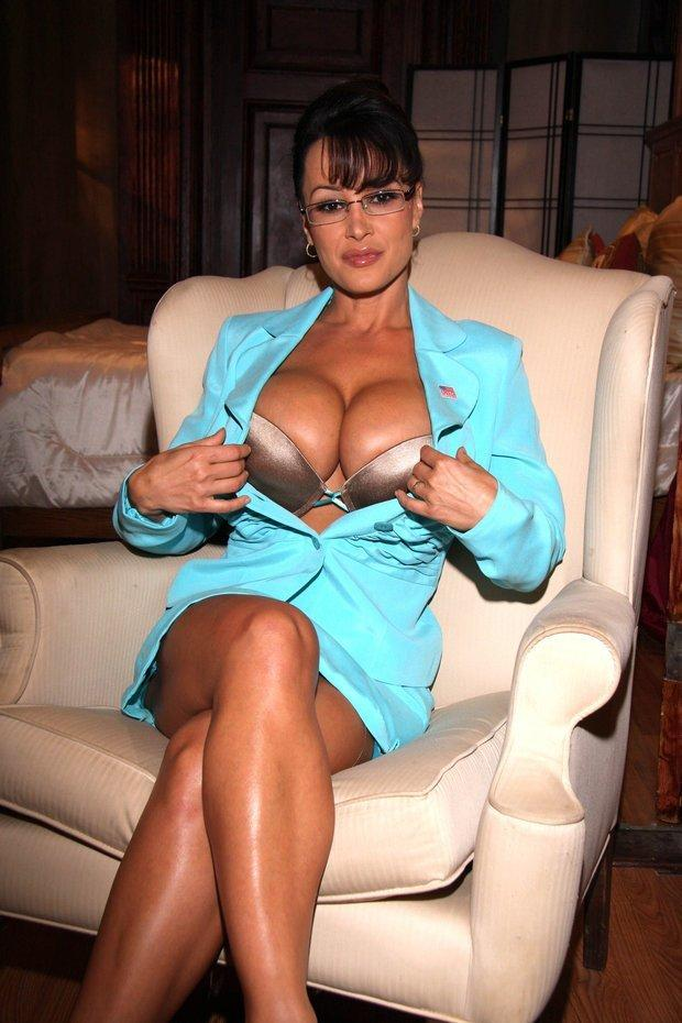 Girl has big tits