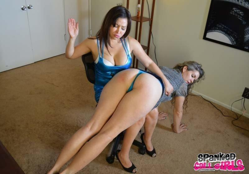 Mom spank sex