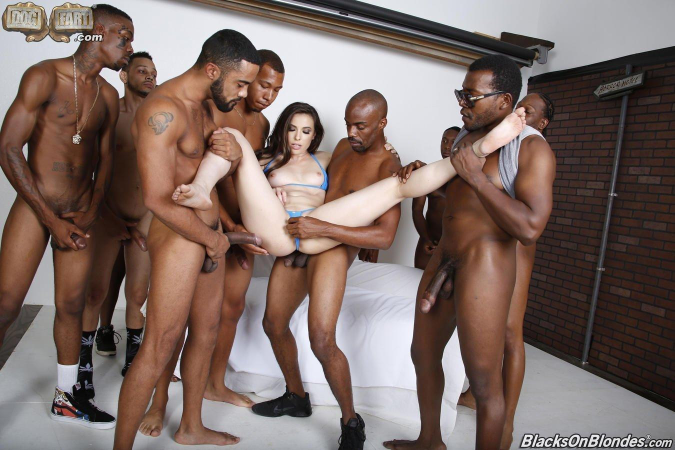Duchess reccomend Gangbang the white slut
