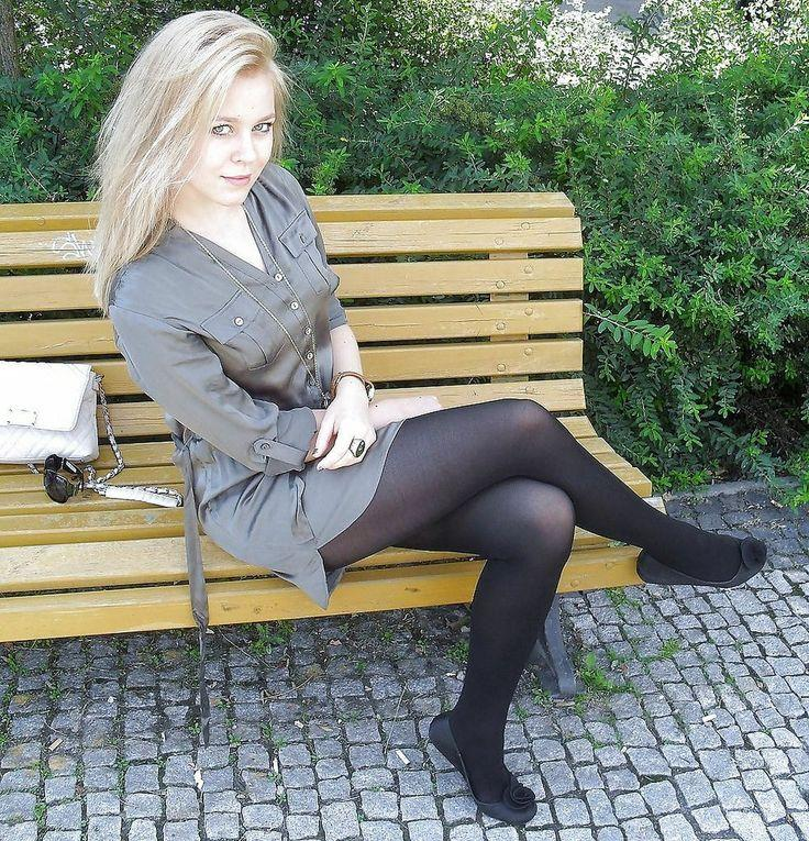 The same stocking sex amateur outside