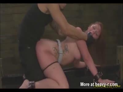 Free tied at stake bdsm video