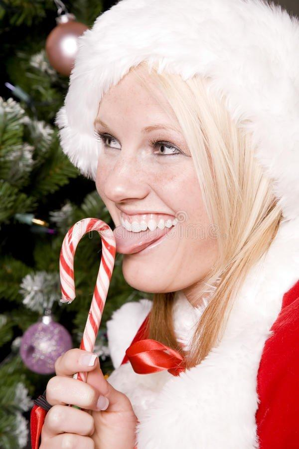 Candy cane lick