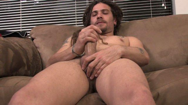 Video of male masturbation