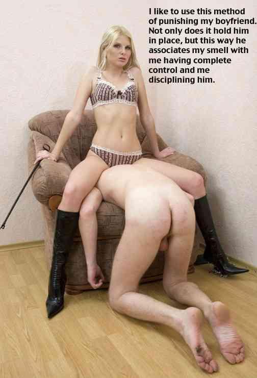 Femdom ans spanking