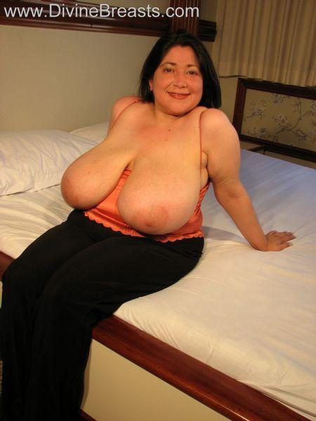 Huge big boobs latina
