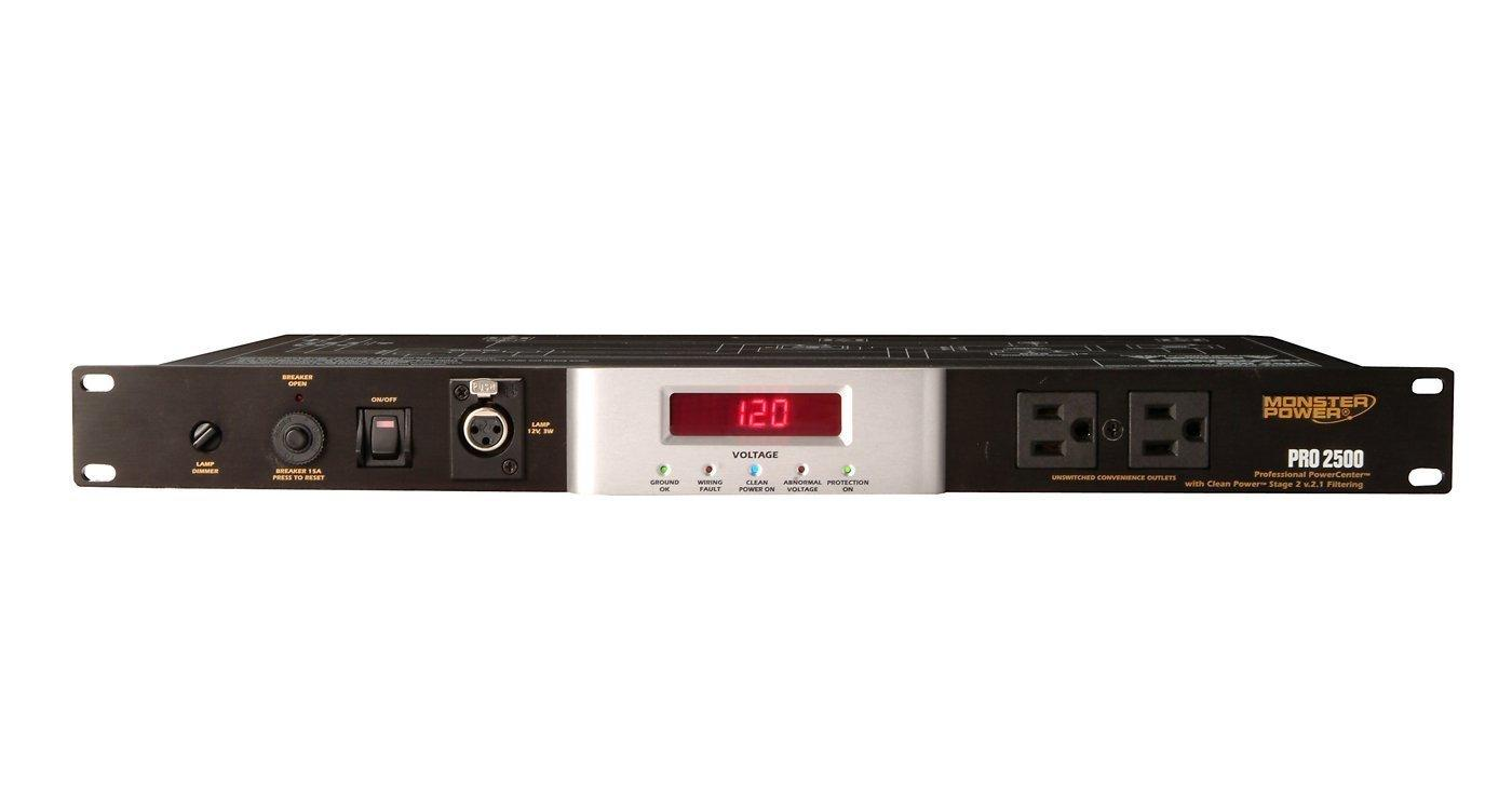 Surge protected power strip outlet 7