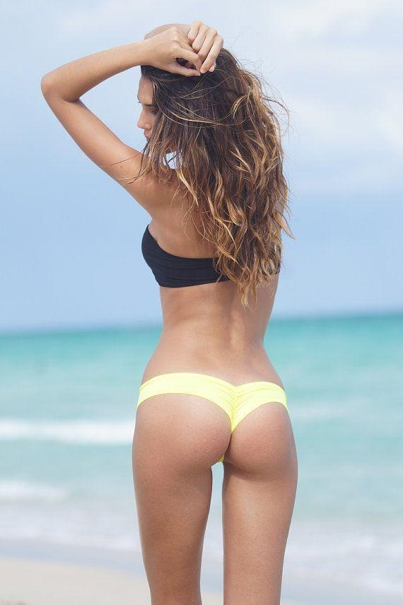 Ass beach behind bikini bootie booty butt pantie shorts