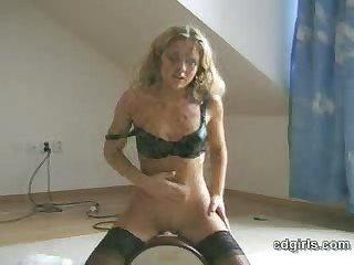 Hot sybian orgasm