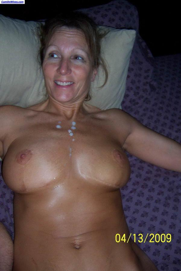 Nude wife jizz