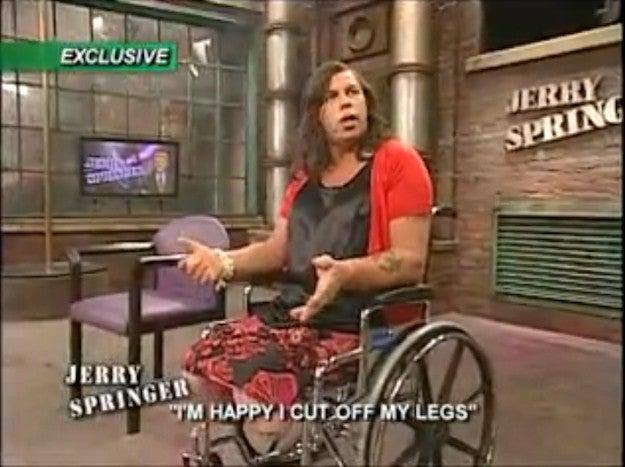 Jerry springer deaf stripper