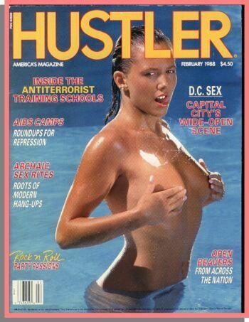 Klassisches hustler pictorial, Sex Möbel