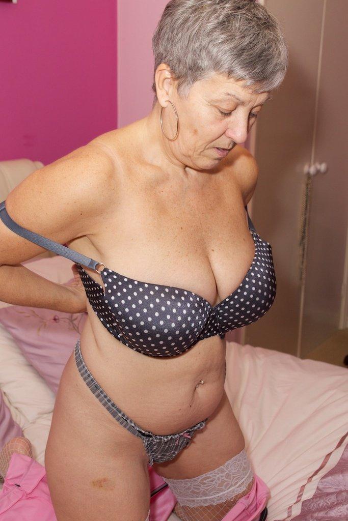 Sexy granny massage