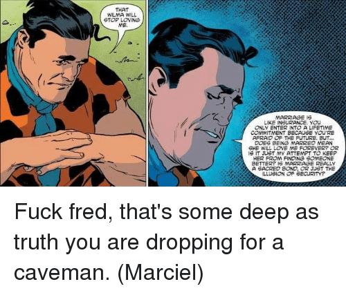 Fucking like a caveman