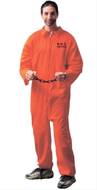 Got busted adult costume