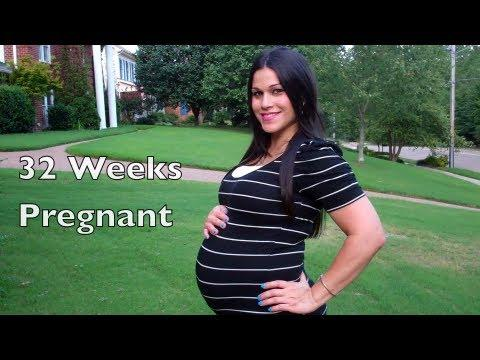 best of Pregnant 32 belly Weeks