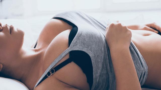 Bitsy B. reccomend Ache back big boob