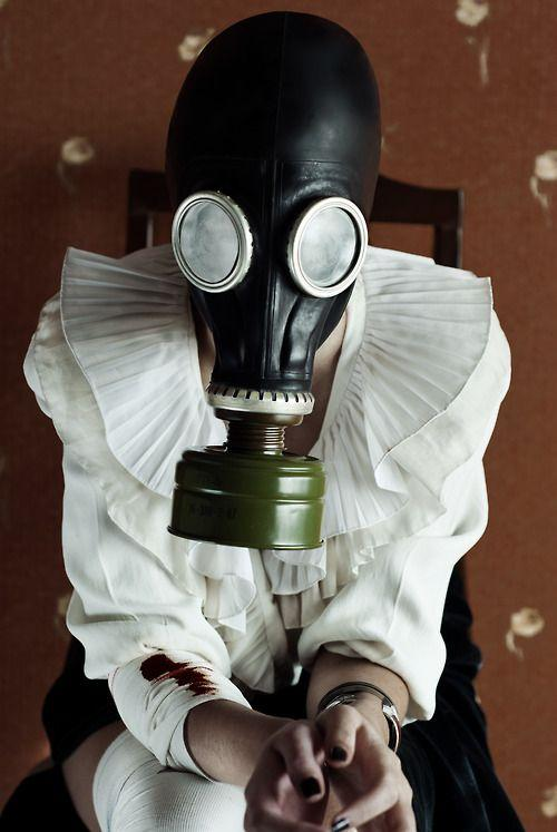 Fart fetish gas mask