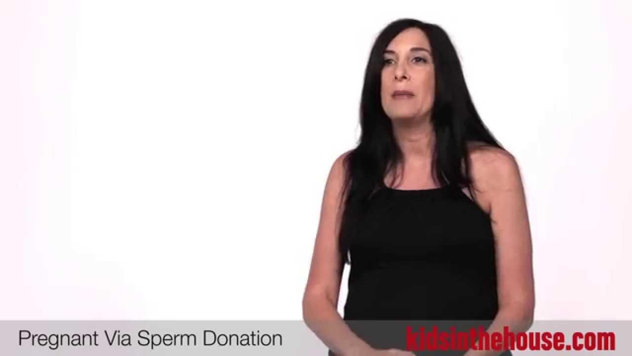 Sperm donation for pregnant