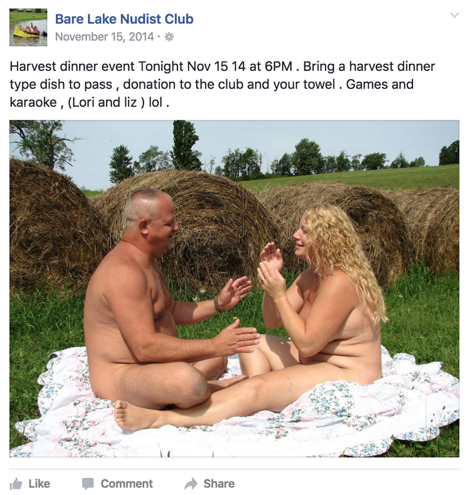 LYNDA: Nudist sprakers ny