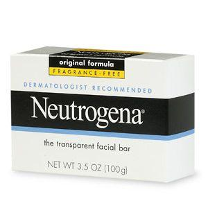 Dandelion reccomend Neutrogena dry skin facial bar