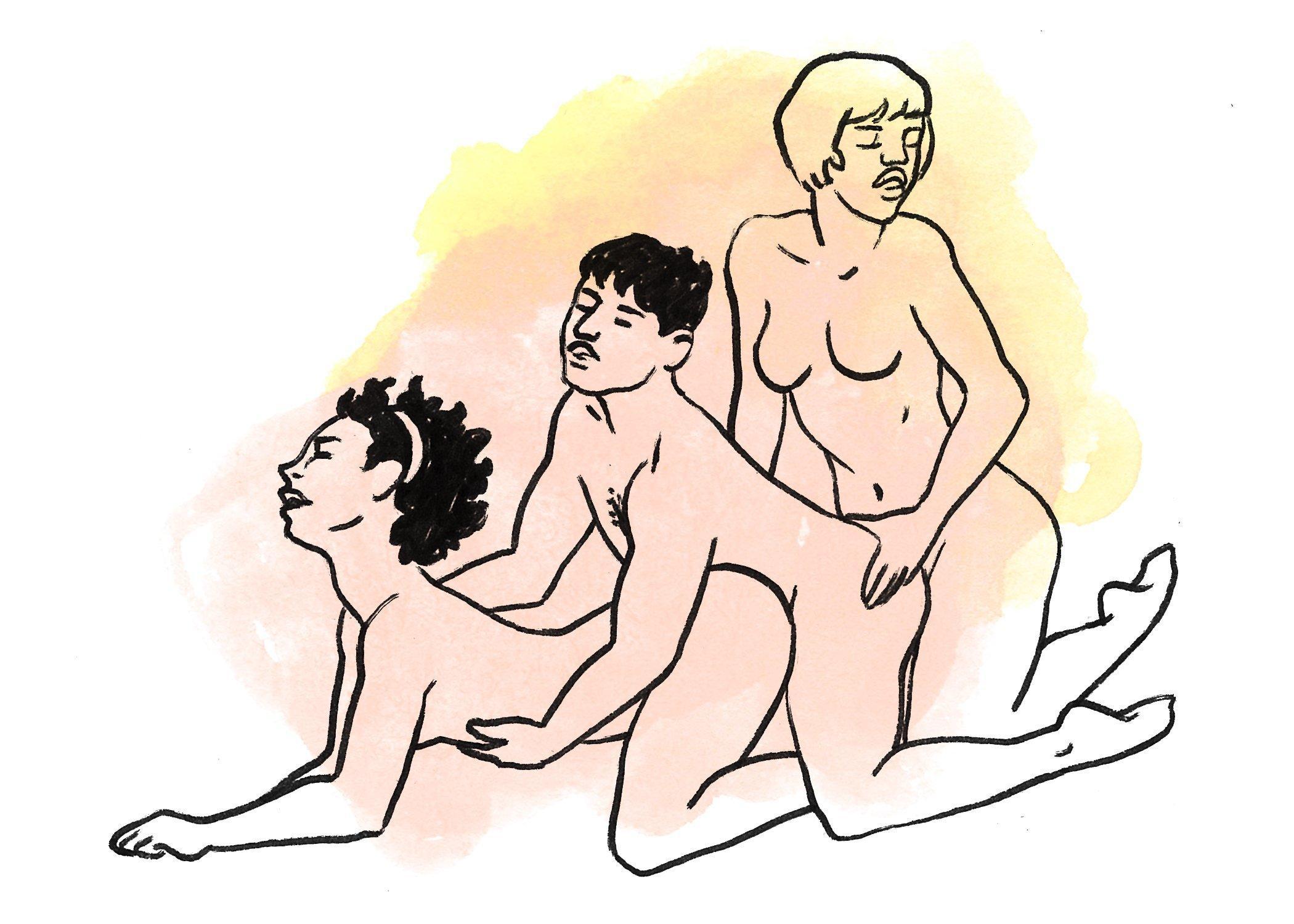 Bisexual threesome advice