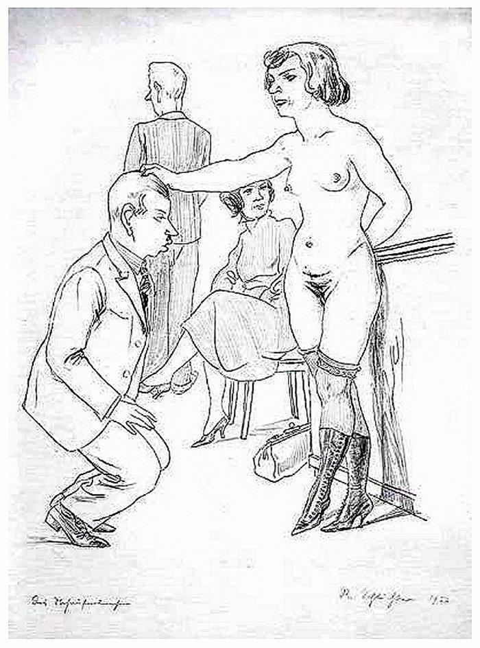 Shaved spanked slave husband