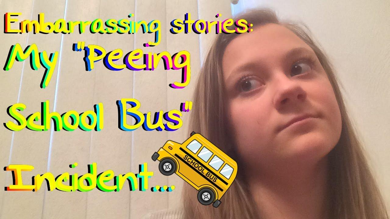 Peeing in the bus - Nude photos.
