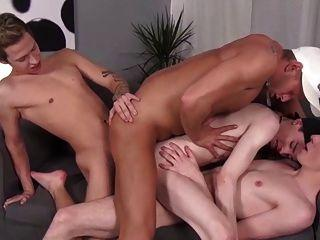 Free sex videos three cocks in her