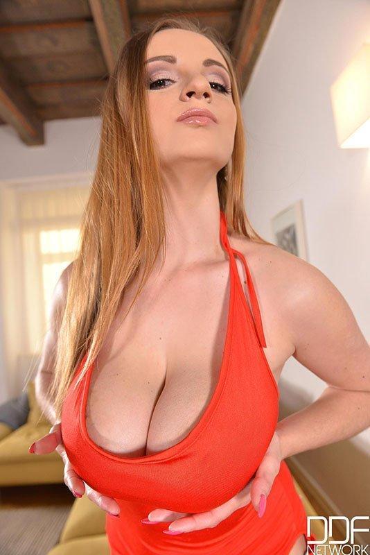 Big tits cum shot ddf natural
