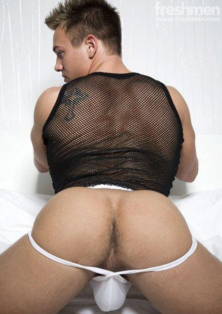 Gay jockstrap ass