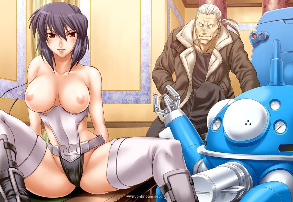 xxx Ghost in shell