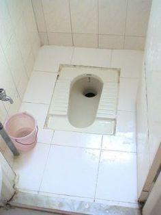Community pissing toilet type