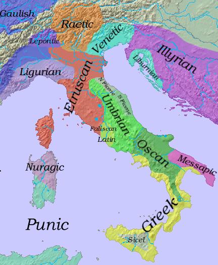 Marine reccomend Who were the latins