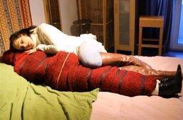 Venus reccomend Wool blanket bondage and mummification