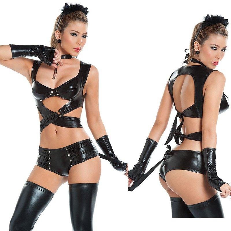 Cat costume strip