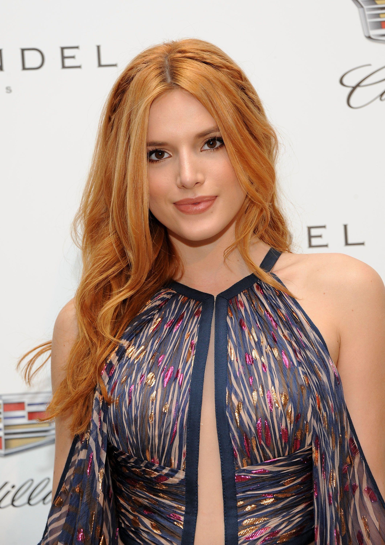 Celebrity redhead female