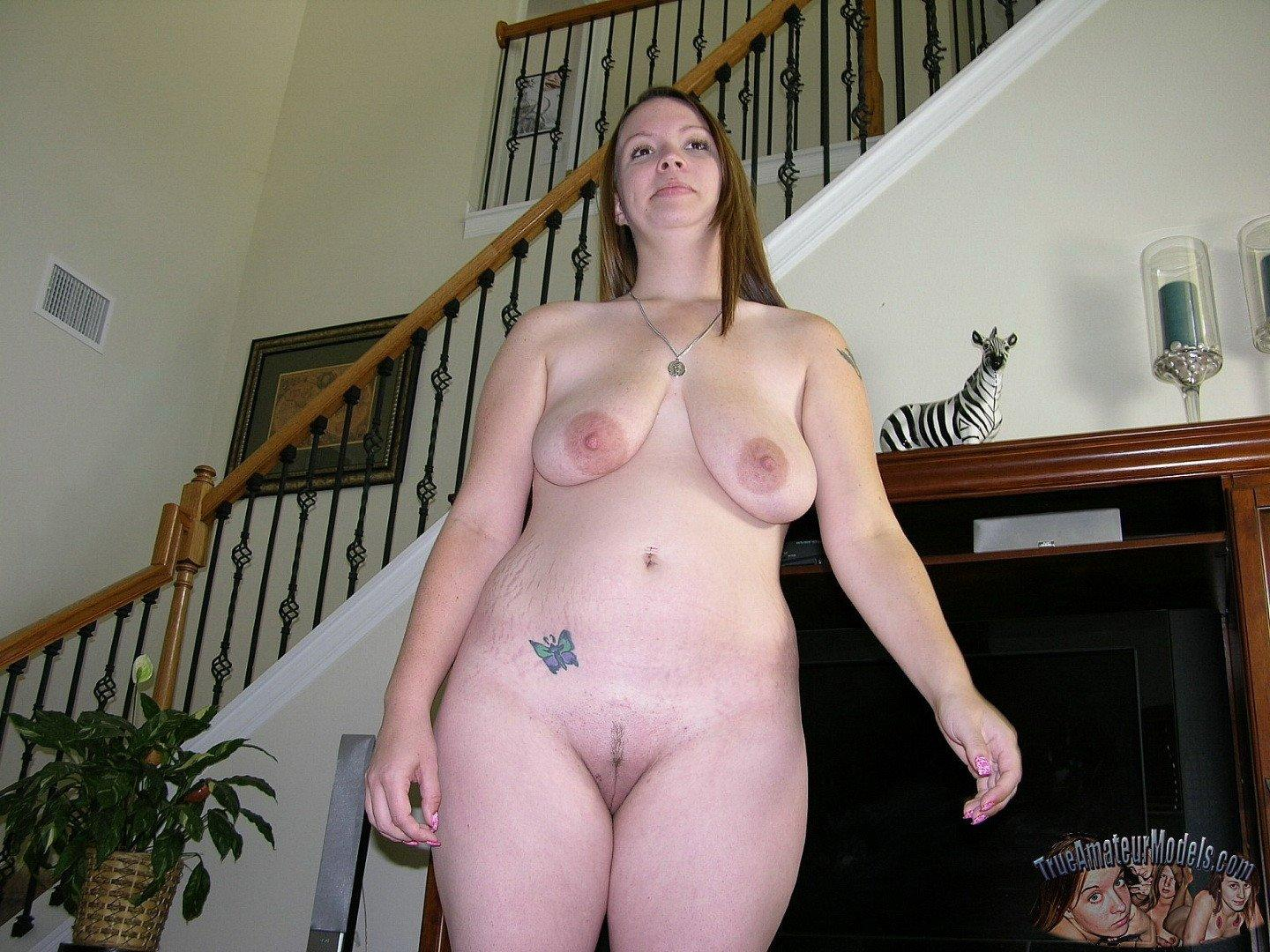 tits big chubby Amateur with women