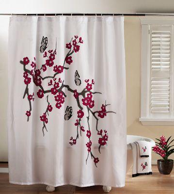best of Curtain influence Shower asian