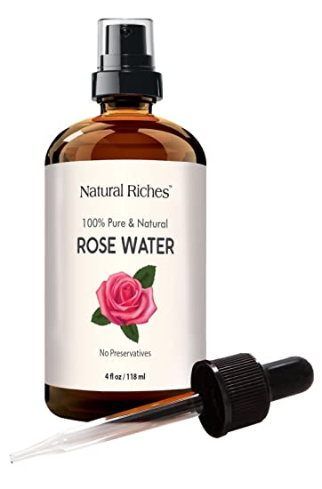 Rose spray facial toner