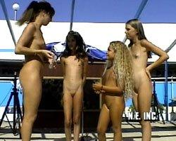 Contestants pageant nude beauty