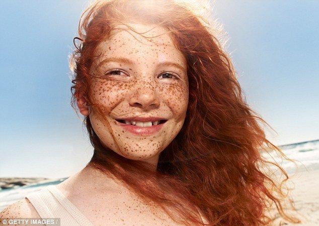 Naked australian redhead freckles