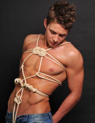 Crusher reccomend Bondage gay rope