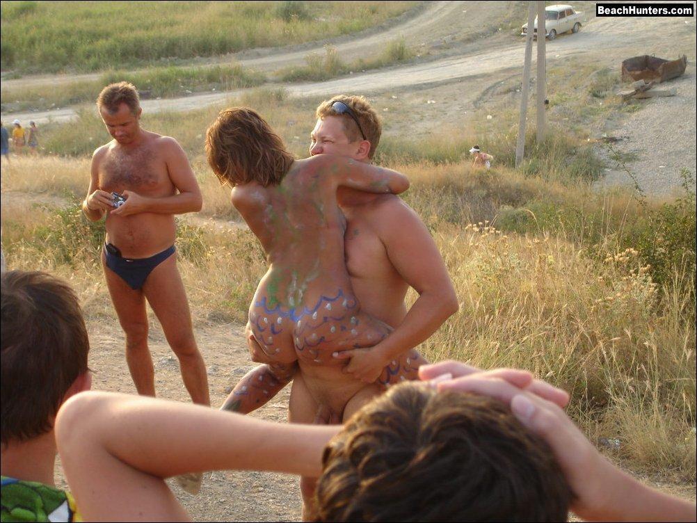 Free amatuer sex videos beach