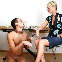 best of Erection femdom Contol