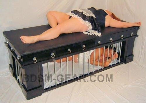 Wooden bdsm cages