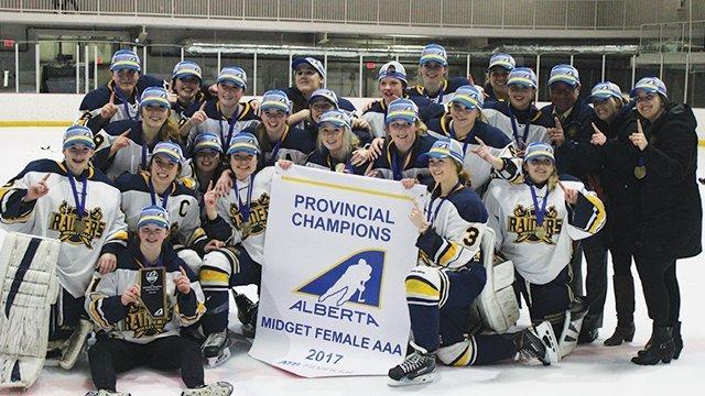best of Midget aaa hockey female Alberta