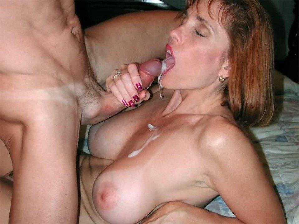Nude redhead milf blowjob